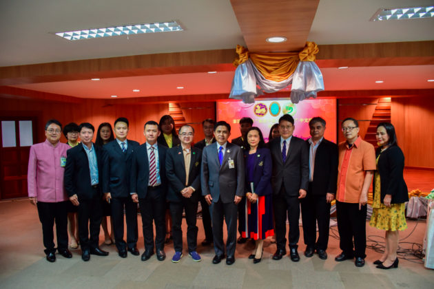 """CISDUS Opens """"Promoting China-ASEAN Cooperation"""" Chinese Language Training Course for the Ministry of Interior of Thailand"""